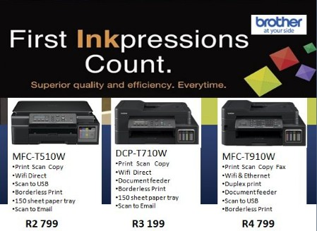 Brother Ink Tank Printers - Epson and Brother Ink Tank