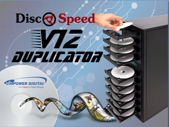 Discspeed V12 DVD Duplicator