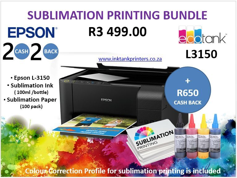 Sublimation Printing - Epson and Brother Ink Tank Printers