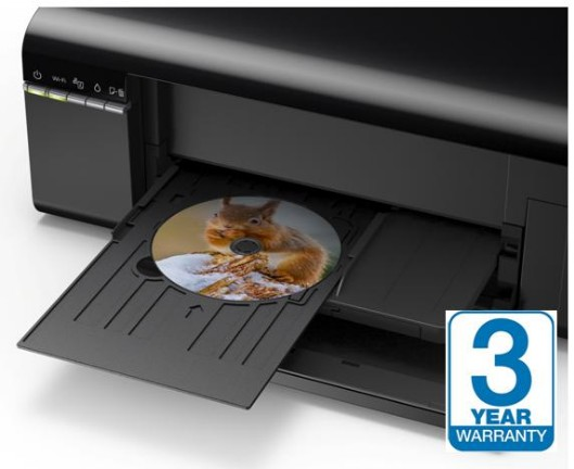 CD Printer Photo Printer, WiFi with Epson Ink Tank System