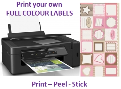 Print Colour Labels