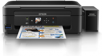 Epson L486 Ink Tank Printer - CD DVD USB Duplication and Print
